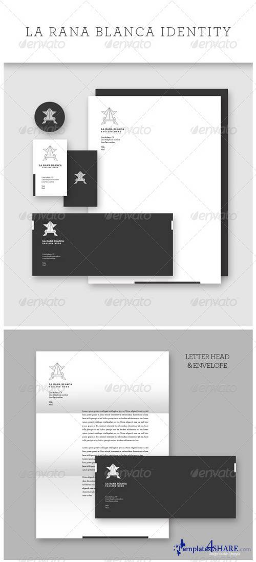 GraphicRiver Multipurpose White Frog Identity
