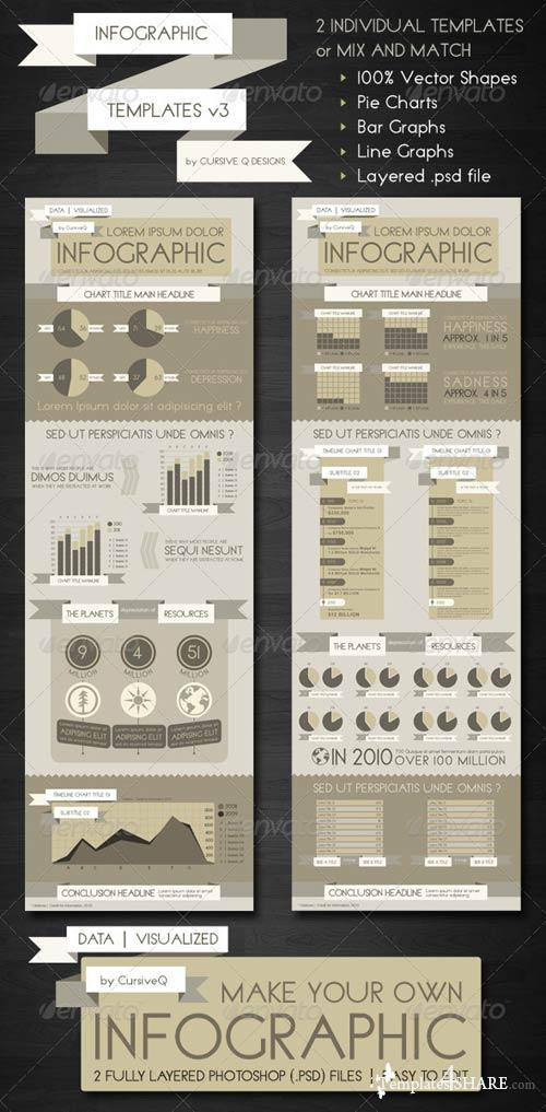 GraphicRiver Infographic Templates and Charts v3