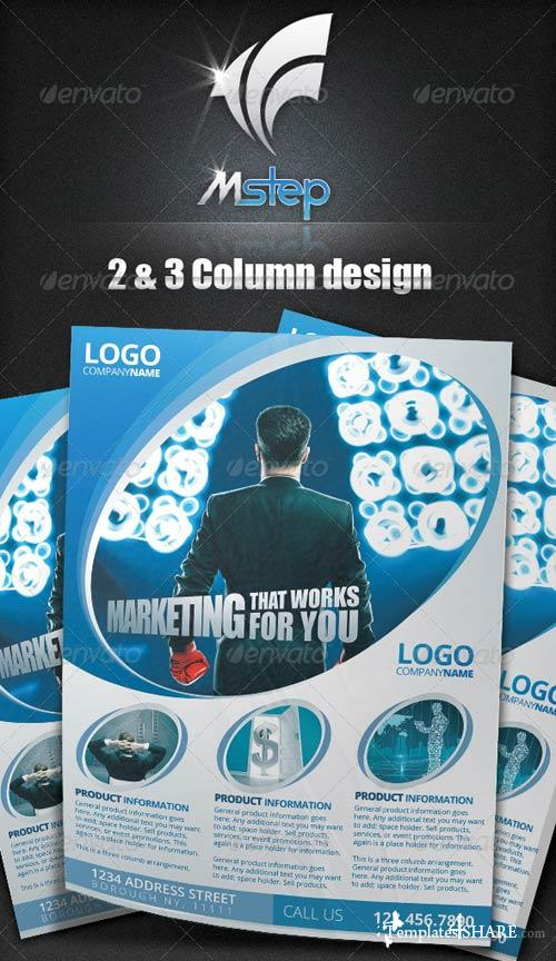 GraphicRiver 2 Simple Business Flyer Template