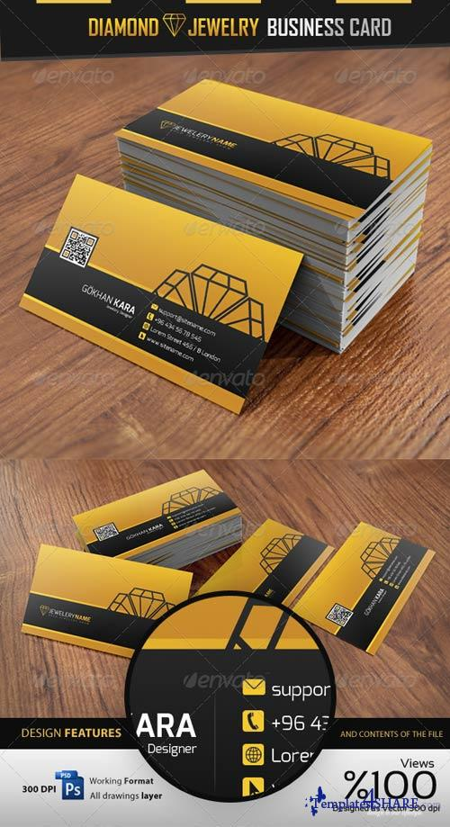 GraphicRiver Diamond Jewelry - Business Card