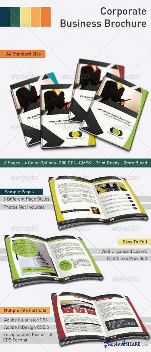 GraphicRiver Corporate Business Brochure