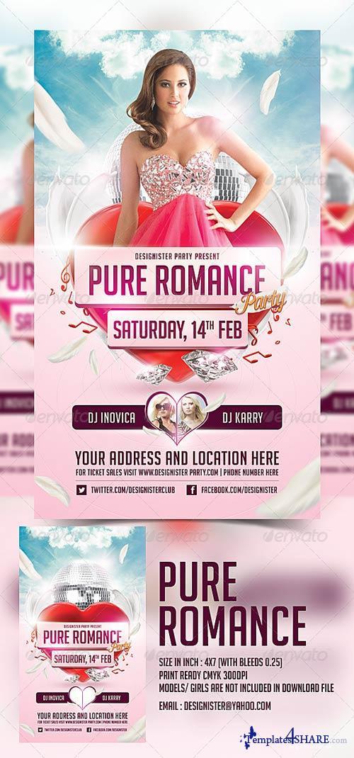 GraphicRiver Pure Romance Party Flyer