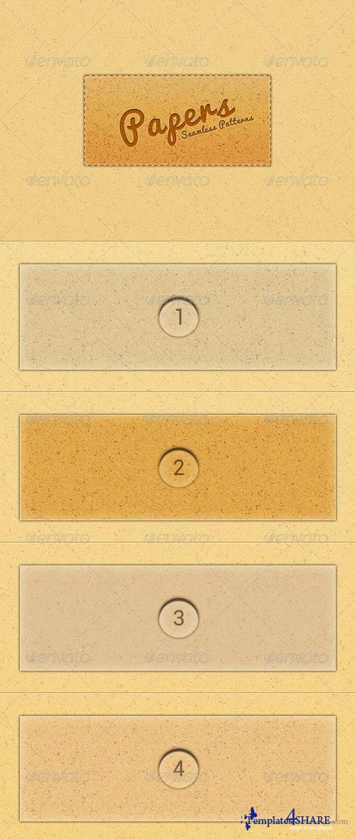 GraphicRiver Eight Seamless Paper Texture Patterns