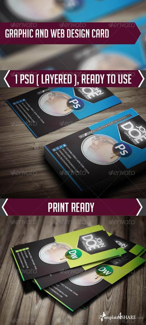 GraphicRiver Graphic and Web Design Card