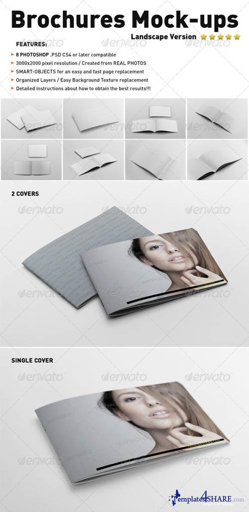 GraphicRiver Photorealistic Landscape Brochure Mock-ups
