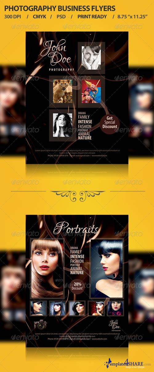 GraphicRiver Photographer Promotion Business Flyer