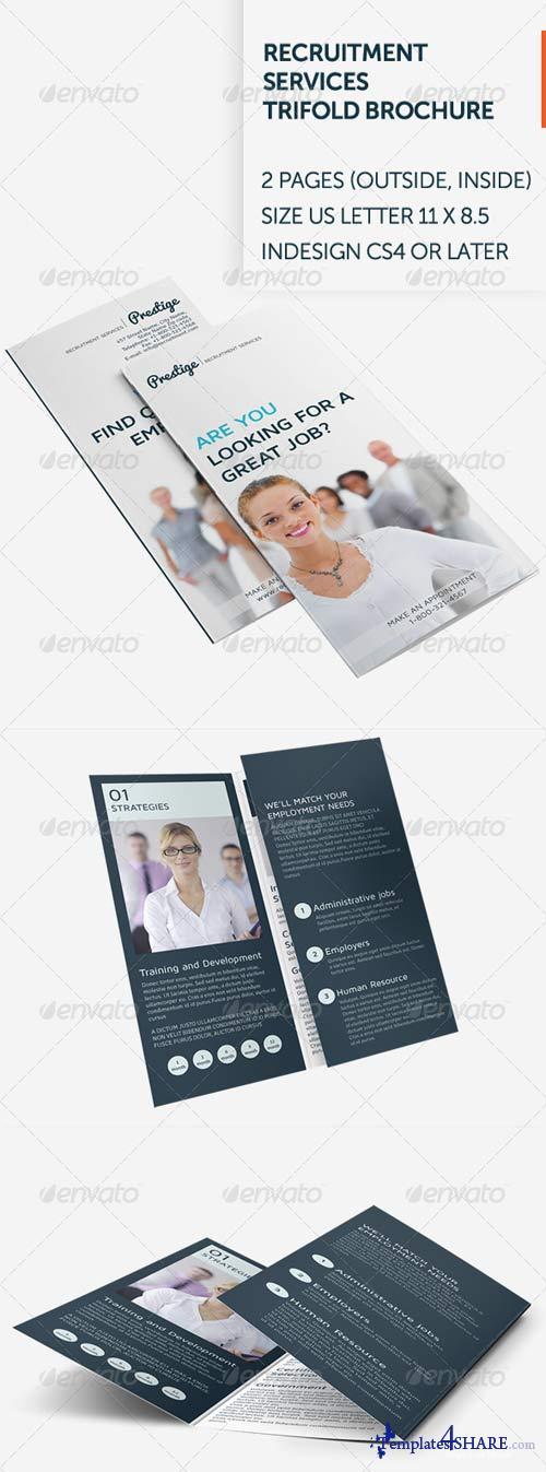 GraphicRiver Recruitment Services Trifold Brochure