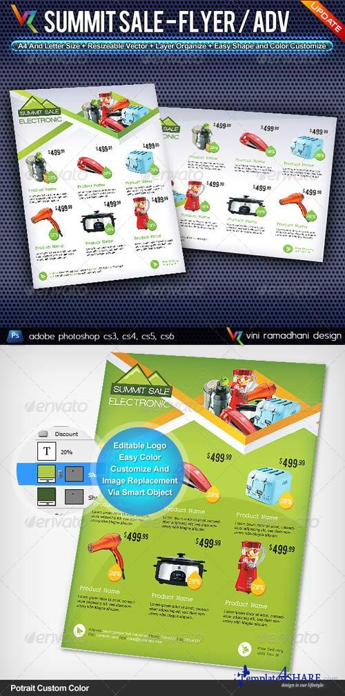 GraphicRiver Summit Sale Flyer Or Advertising