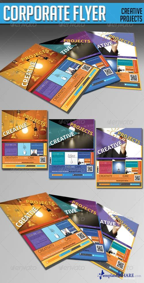 GraphicRiver Corporate Flyer - (Creative Projects)