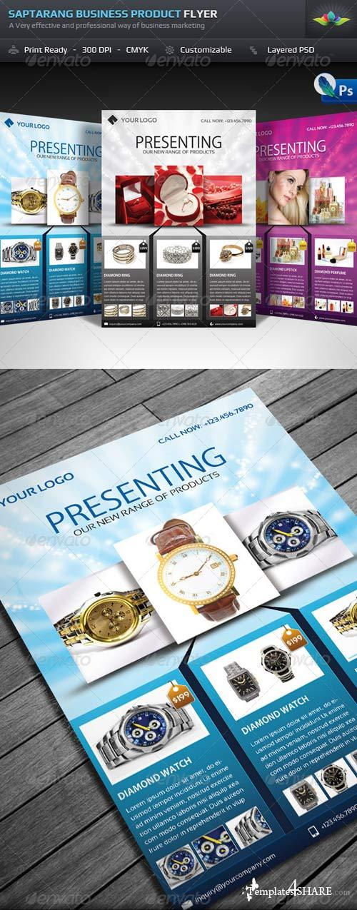 GraphicRiver Saptarang Business Product Flyer