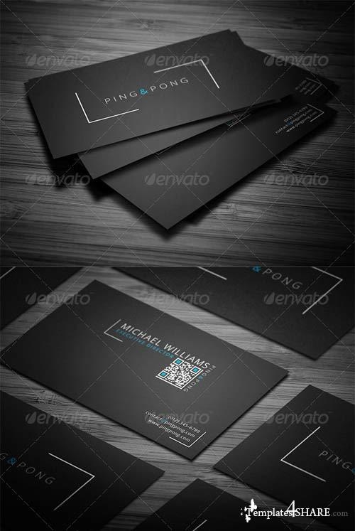 GraphicRiver Fonts&Shapes Business Card