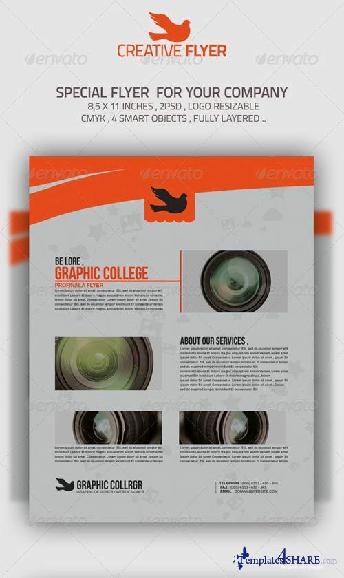 GraphicRiver Dove Flyer