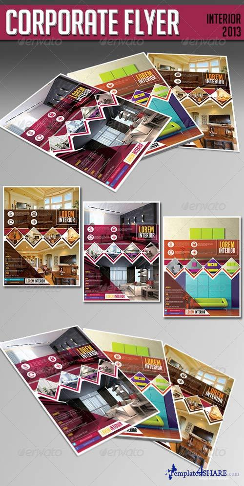 GraphicRiver Corporate Flyer - Interior 2013
