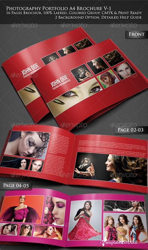 GraphicRiver Photography Portfolio A4 Brochure