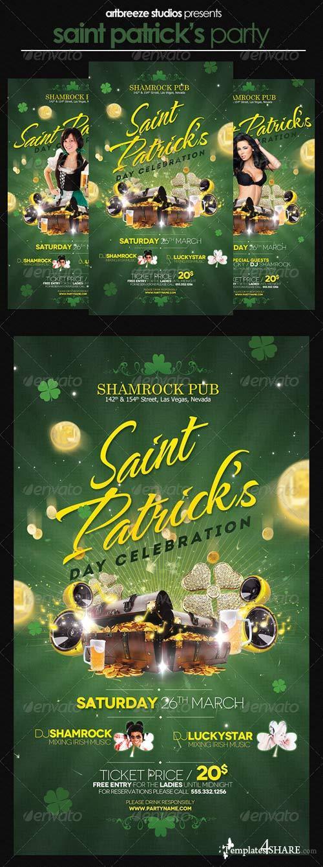 GraphicRiver St. Patricks Flyer