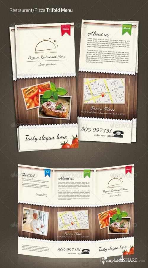 GraphicRiver Restaurant / Pizza Menu #2