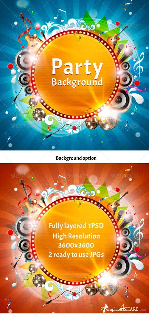 GraphicRiver Party Background