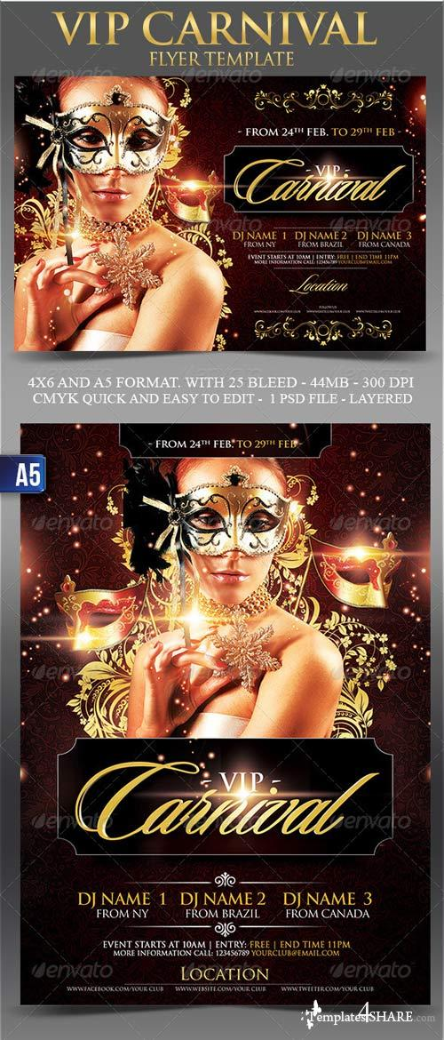 GraphicRiver Vip Carnival Flyer Template