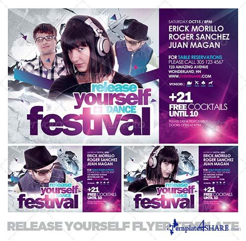 GraphicRiver Release Yourself Flyer Template