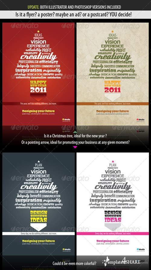 GraphicRiver Typography Template