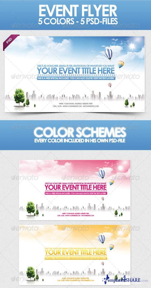 GraphicRiver Sky - Flyer Template