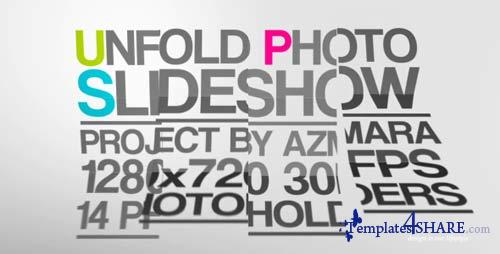 Unfold Photo Slideshow - After Effects Project (Videohive)