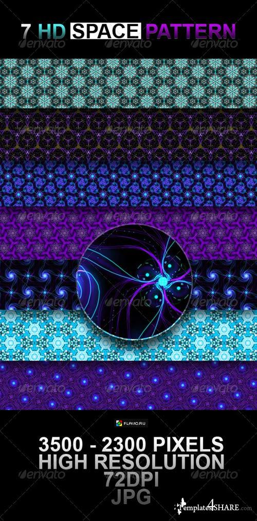 GraphicRiver 7 HD Space Pattern