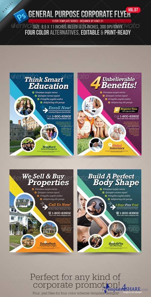 GraphicRiver General Purpose Corporate Flyer Vol.07