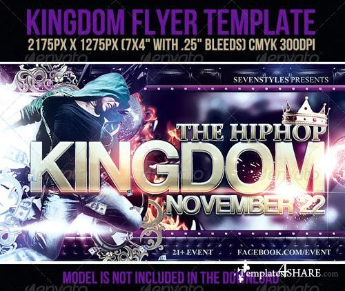 GraphicRiver Kingdom Flyer Template