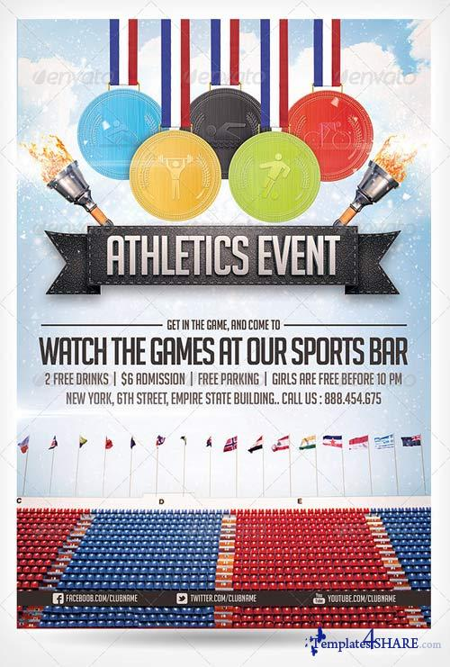 GraphicRiver Athletics Sports Flyer