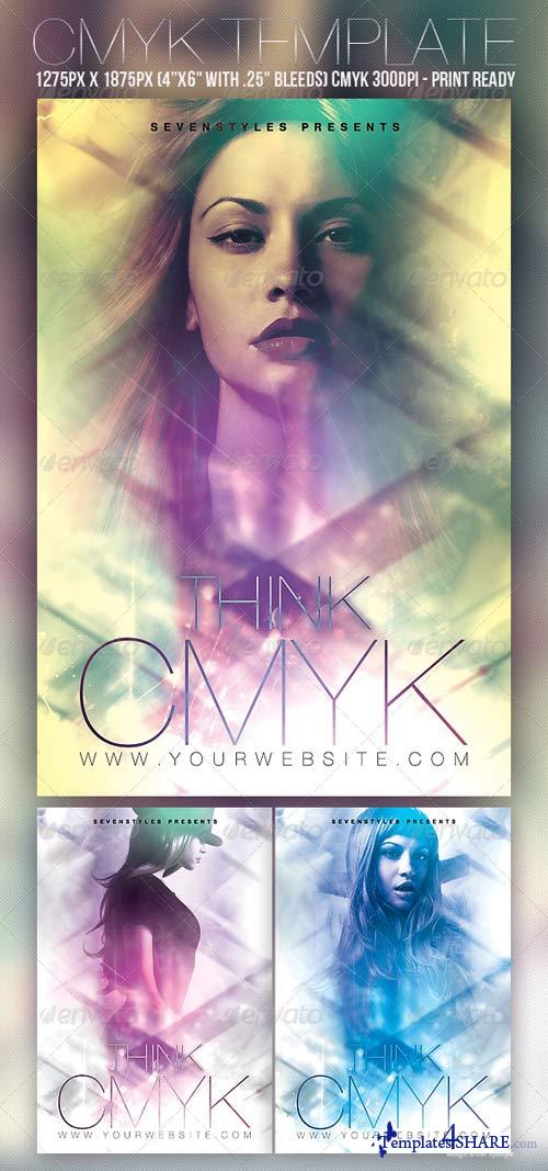 GraphicRiver CMYK Flyer Template