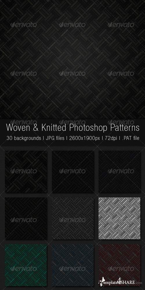 GraphicRiver Woven and Knitted Photoshop Patterns