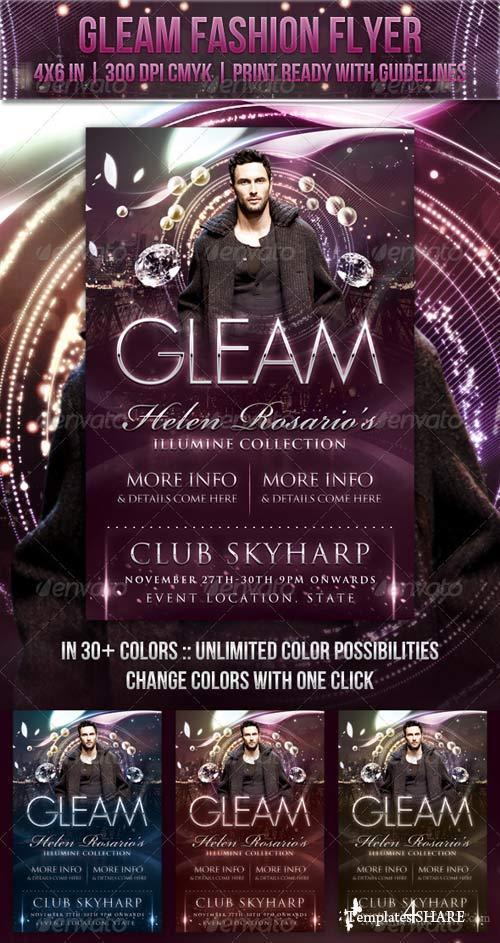 GraphicRiver Gleam Fashion Flyer