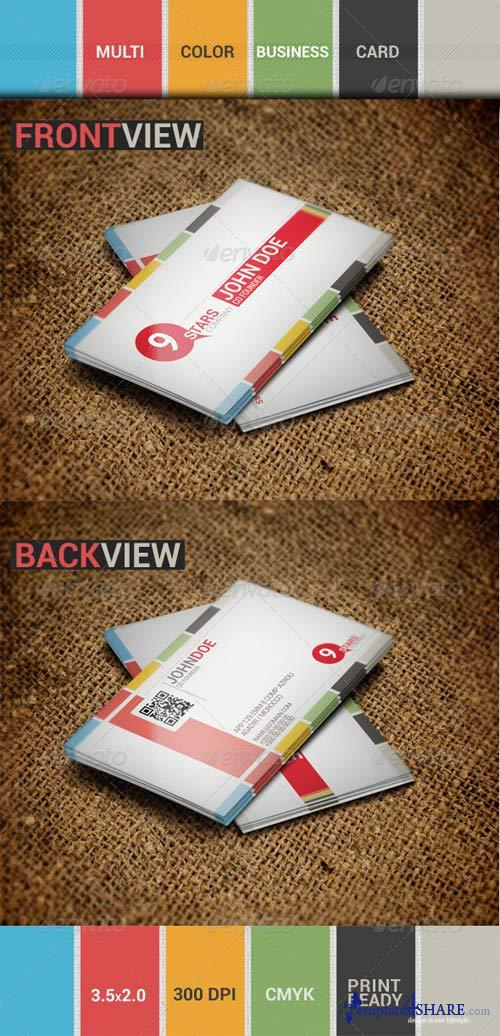 GraphicRiver Multi-Color Business card