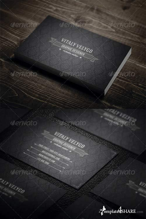 GraphicRiver Vintage Business Card N3