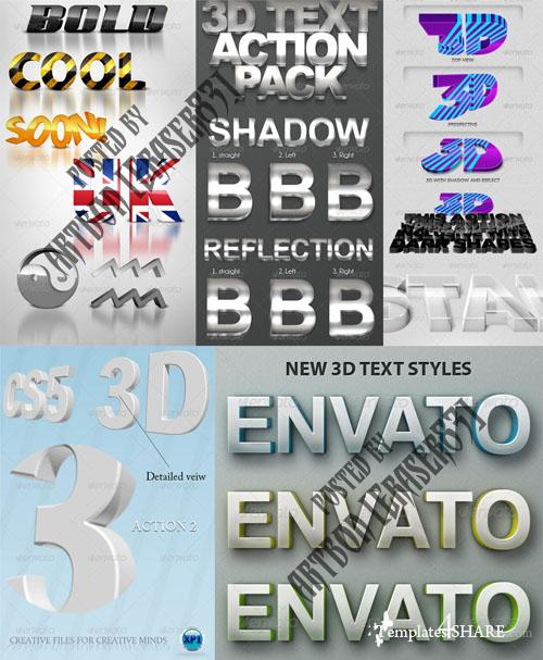 GraphicRiver Photorealistic Layer Styles Collection