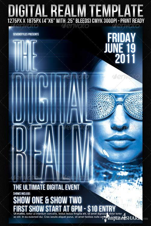 GraphicRiver DigitalRealm Flyer Template