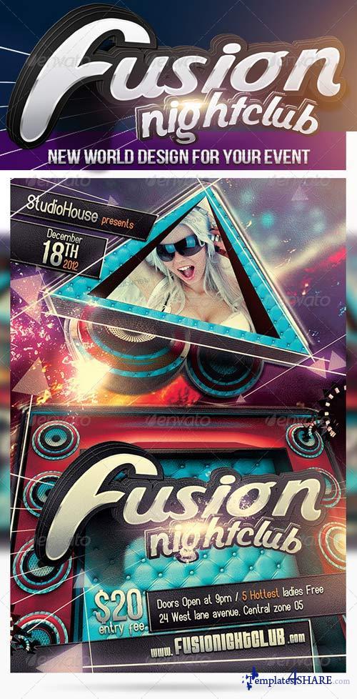 GraphicRiver Fusion NightClub