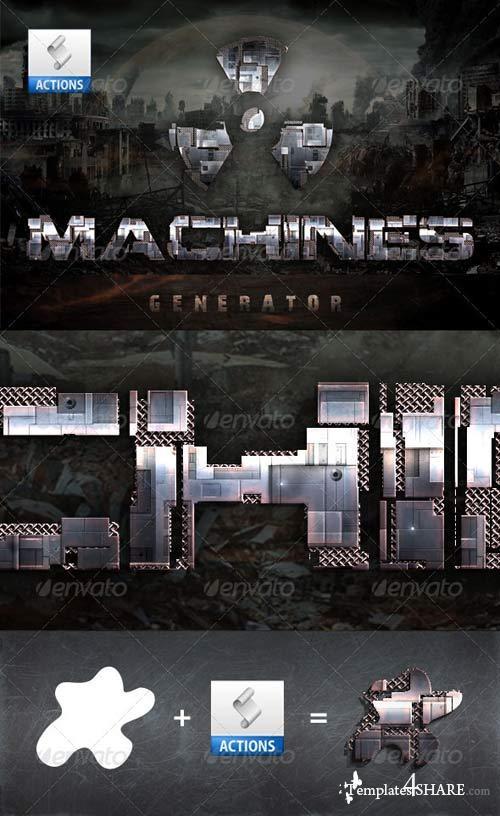 GraphicRiver Machines Generator