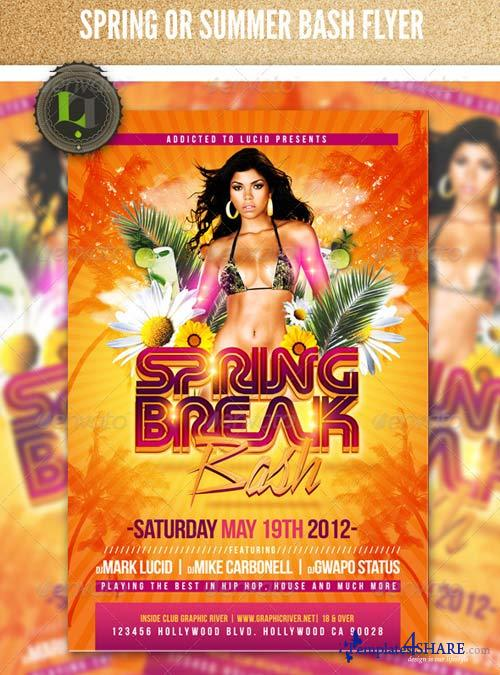 GraphicRiver Spring or Summer Bash Flyer