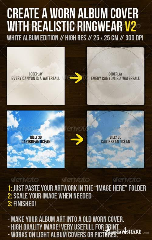 GraphicRiver Create A Worn Album Cover With Ringwear Part 2