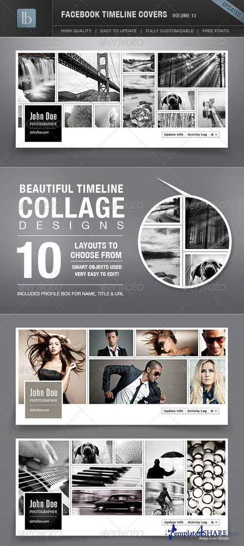 GraphicRiver Facebook Timeline Covers | Volume 13