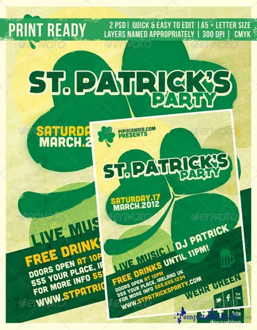 GraphicRiver St. Patrick's Party