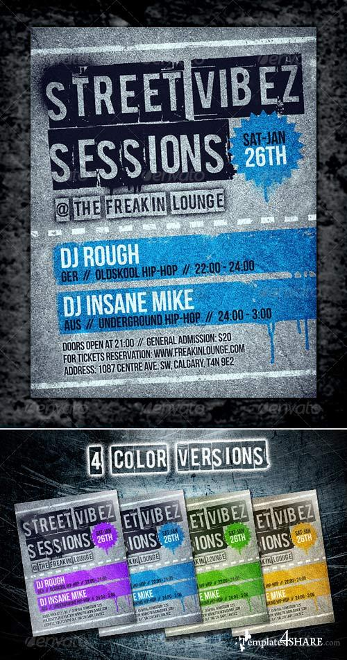 GraphicRiver Street Flyer