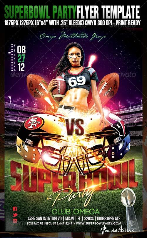 GraphicRiver Superbowl Party