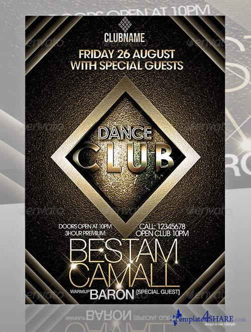 GraphicRiver Amazing Club Flyer