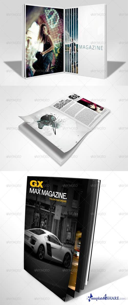 GraphicRiver Mega Pack Magazine Mockups 3