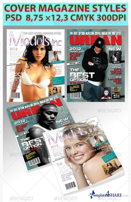 GraphicRiver Magazine Cover Style