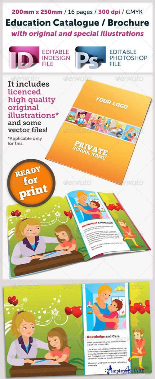 GraphicRiver Education Catalogue (Illustrated)