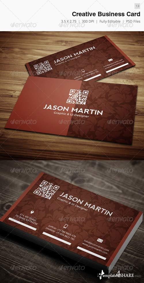 GraphicRiver Creative Business Card - 13